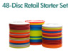 48 Disc Retail Disc Golf Starter Set