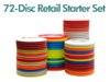 72 Disc Retail Disc Golf Starter Set