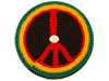 Pocket Disc Sport - Rasta Peace Sign