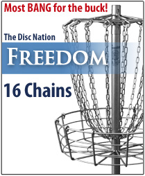 Disc Nation Freedom Disc Golf Target